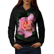 Rose Flower Photo Nature Sweatshirt Hoody After Rain Flower Women Hoodie - $21.99+