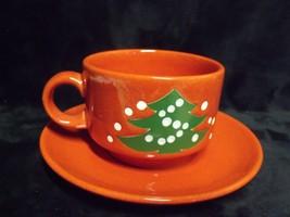 Waechtersbach Christmas Tree Coffee Cup And Saucer NOS - $17.82