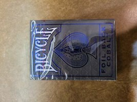 Bicycle Metalluze Cobalt - $9.75