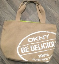 DKNY Be Delicious Women Perfume Weekender Tote Bag Purse Handbag - $23.36