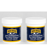 2 - Amish Origins Deep Penetrating Pain Relief Ointment Restless Legs Ar... - $24.74