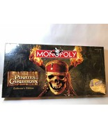 PIRATES of the CARIBBEAN Collector's Edition MONOPOLY Board Game 2006 Co... - $13.85