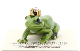 Hagen-Renaker Miniature Ceramic Frog Figurine Birthstone Prince 06 June