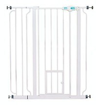 Carlson Extra Tall Pet Gate with small door Fences Exercise Pens Dog Sup... - $58.96