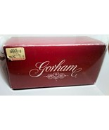 New Gorham  Sugar and Creamer New In Box Victoria's Garden Hand Cut Pola... - $29.69