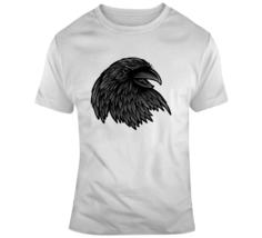 Alstyle Men Classic Cotton Crew Neck Short Sleeve T-Shirt Raven Head Tee S-6XL - $18.99+