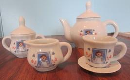 Raggedy Ann Classic American Dolls U.S. Stamp 80th Anniversary 13 pc Tea... - $49.50