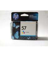 GENUINE HP 57 Tri-color ink cartridge Deskjet Photosmart Officejet Exp 0... - $11.84