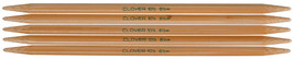 "Takumi Bamboo Double Point Knitting Needles 7"" 5/Pkg-Size 8/5mm - $10.13"