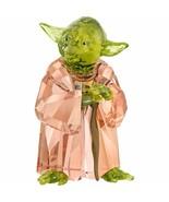 Swarovski Collection Star Wars Maître Yoda Figurine de Verre Référence :... - $526.20
