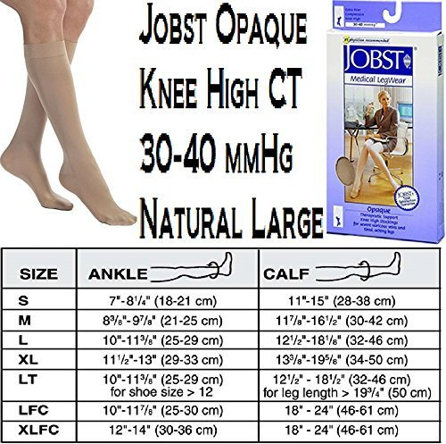 3c5c0133c6 BSN Medical 115284 Jobst Opaque Compression Hose, Knee High, 30-40 mmHG,  Closed - $65.92