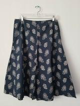 Banana Republic A-line Cotton Midi Skirt, Size 12 - $20.00