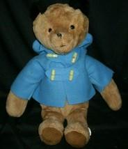 "17"" BIG VINTAGE EDEN BROWN PADDINGTON TEDDY BEAR STUFFED ANIMAL PLUSH TO... - $42.08"