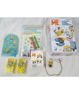 Despicable Me Minions 6 Pc Gift Set Playing Cards Tic Tac Stickers Color... - $17.61