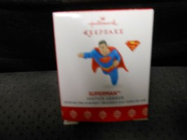 "Hallmark Keepsake ""Superman - Justice League"" 2017 Miniature Ornament NEW - $9.85"