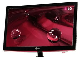 LG Home Office Gaming W2361V 23-inch Wide LCD TFT Monitor, 2ms, 50000:1, Full HD - $48.93