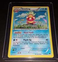 Slowking Holo Rare Pokemon Card 21/122 TCG + Hard Sleeve - $2.96