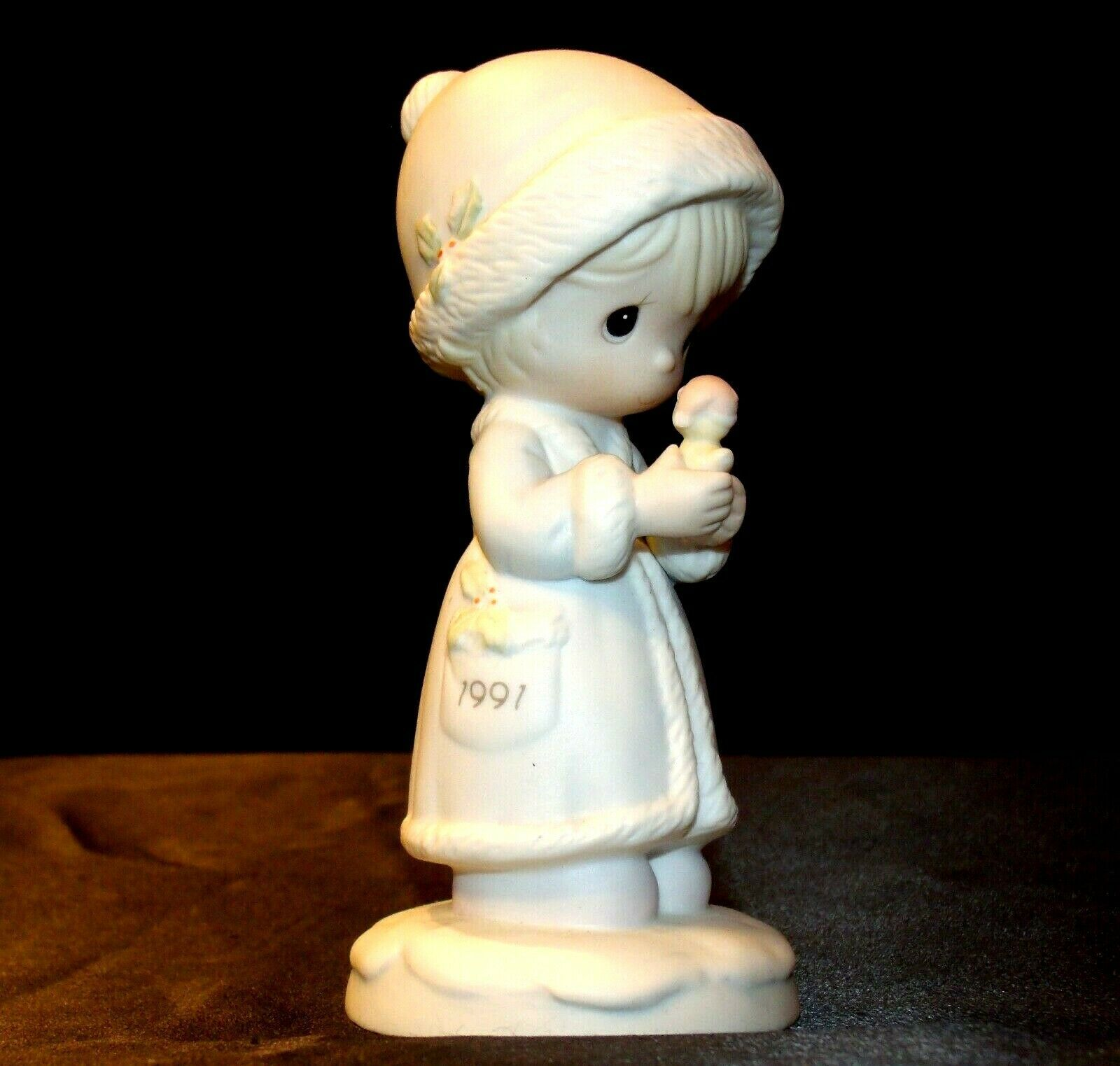 Precious Moments May Your Christmas Be Merry 524166 AA-191849  Vintage Collectib