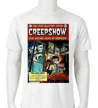 Creepshow Dri Fit graphic T-shirt microfiber retro 80s movie UPF +50 Sun Shirt image 1