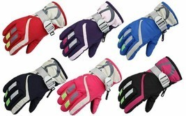 Children Winter Thermal Warm Gloves Outdoor Waterproof Windproof Kids Mi... - $13.99