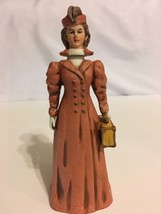 "Vintage 1976 NAAC Avon Clubs Red Lady Figurine Decanter Bottle 7.5"" #286... - $19.79"