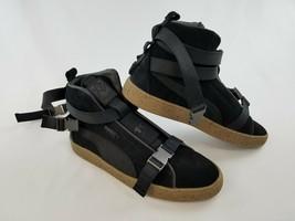 Nuevo Puma Xo Hombre Zapatos 1968 Arte 36631001 ante Negro 9 Msrp $185 - $94.34