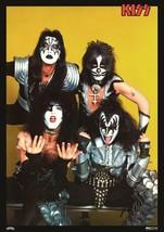 KISS Band KISS 1977 Japan Victor Import Reproduction 24 x 34 Poster - Ro... - $50.00