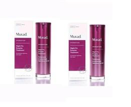 2 x Murad Hydration Night Fix Enzyme Treatment 1oz/30ml New In Box - $79.19