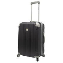 "Beverly Hill Country Club Malibu Newport 24"" Gray Light Spinner Luggage ... - $78.20"