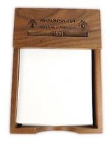 Vintage 1991 Nekoosa Paper Ashdown Arkansas Wood Desk Note Holder - €15,01 EUR