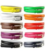"""Women Solid Color Skinny Dress Belt, 3/4"""" Wide  *Multiple Colors!* SHIPS... - $7.71+"""