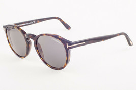 Tom Ford IAN Dark Havana / Green Sunglasses TF591 52N IAN-02 51mm - $234.22