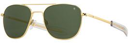 AO Newly Updated Original Pilot Gold Frame True Color Green Glass Sunglasses - $194.00+