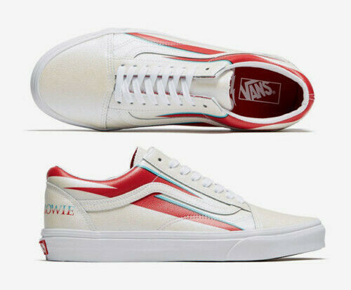 DAVID BOWIE VANS old skool Aladdin Sane shoes M 4.5 / W 6 SOLD OUT new w/box