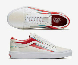DAVID BOWIE VANS old skool Aladdin Sane shoes M 4.5 / W 6 SOLD OUT new w... - $130.89