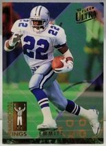 1993 EMMITT SMITH Fleer Ultra TOUCHDOWN KINGS #9 Dallas Cowboys Football... - $6.79