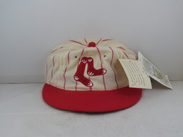 Boston Red Sox Hat (VTG) - 1931 Cooperstown by Roman Pro - Fitted 7 1/8 (NWT)  - $149.00
