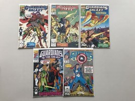 Lot 9 Guardians of the Galaxy (1990 1st Series) #2-4 17 20-23 59 VF-NM N... - $29.70