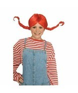 NEW Red Braided Wig Teen Adult Halloween Accessory Wig - $13.50