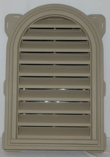 Mid America 00441422095 Siding Components Round Top Gable Vent Clay Color