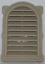 Mid America 00441422095 Siding Components Round Top Gable Vent Clay Color image 1