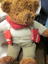 Hallmark 2002 Brown Teddy Bear Mittens Brown Plush Bear New Without Tag - $9.99