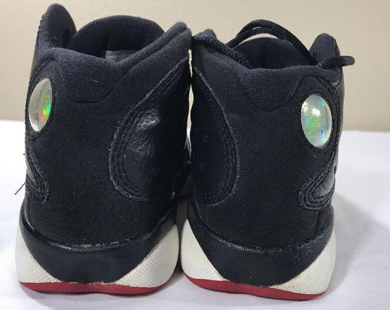 best authentic 409d7 63eaa Nike Air Jordan Retro XIII 13 Playoffs Boys PS 12.5c Bred Cherry Flint  Black Cat