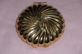 Gold-tone PartyLite Clam Shell Tea Lite Compact - No Res. - $9.95