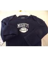 Carter's Boy 3 Pc Set Newborn Sports Print SS & LS Shirts & One Pants Bl... - $9.74