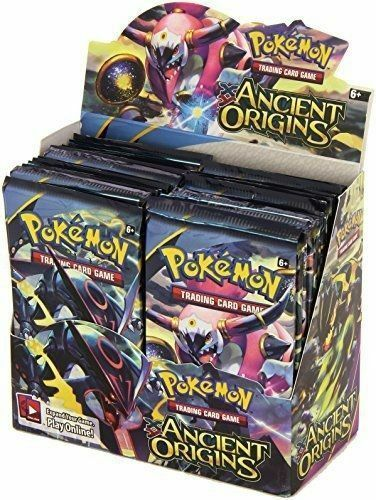 Ancient Origins 12 Booster Pack Lot 1/3 Booster Box POKEMON TCG Trading Cards