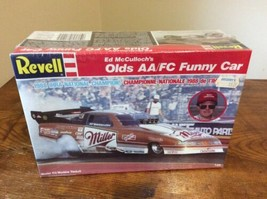 NEW Revell Ed McCulloch's Miller Olds AA/FC Funny Car 1:24 Model FACTORY... - $37.95