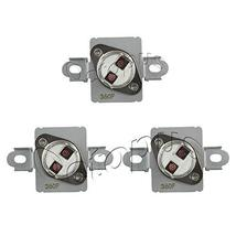 3 Pack WP40113801 Thermal Fuse 40113801 Aftermarket Part Compatible with... - $13.71