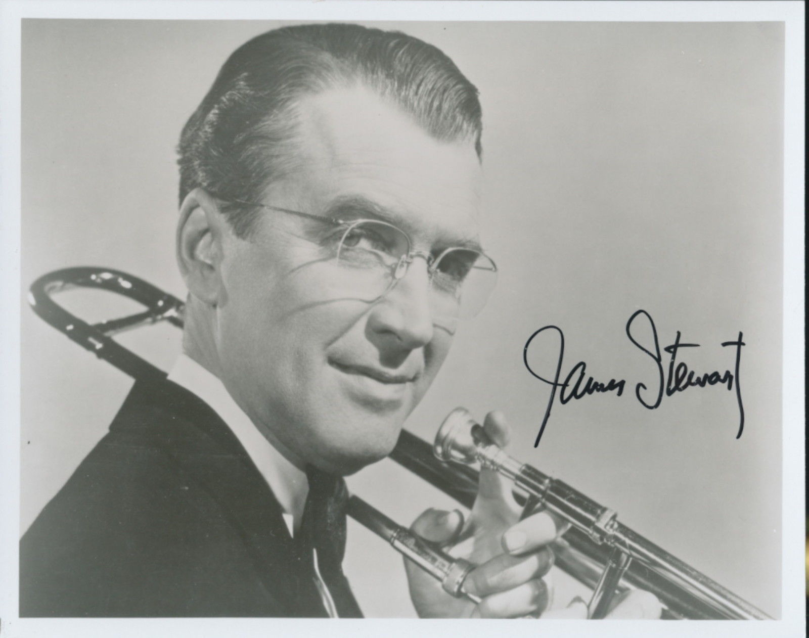 Primary image for James Stewart signed Glenn Miller Story photo. NICE !~!