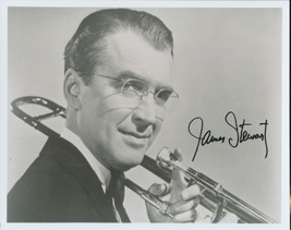 James Stewart signed Glenn Miller Story photo. NICE !~! - $66.95